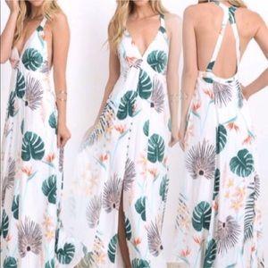 NWT beautiful white maxi dress!